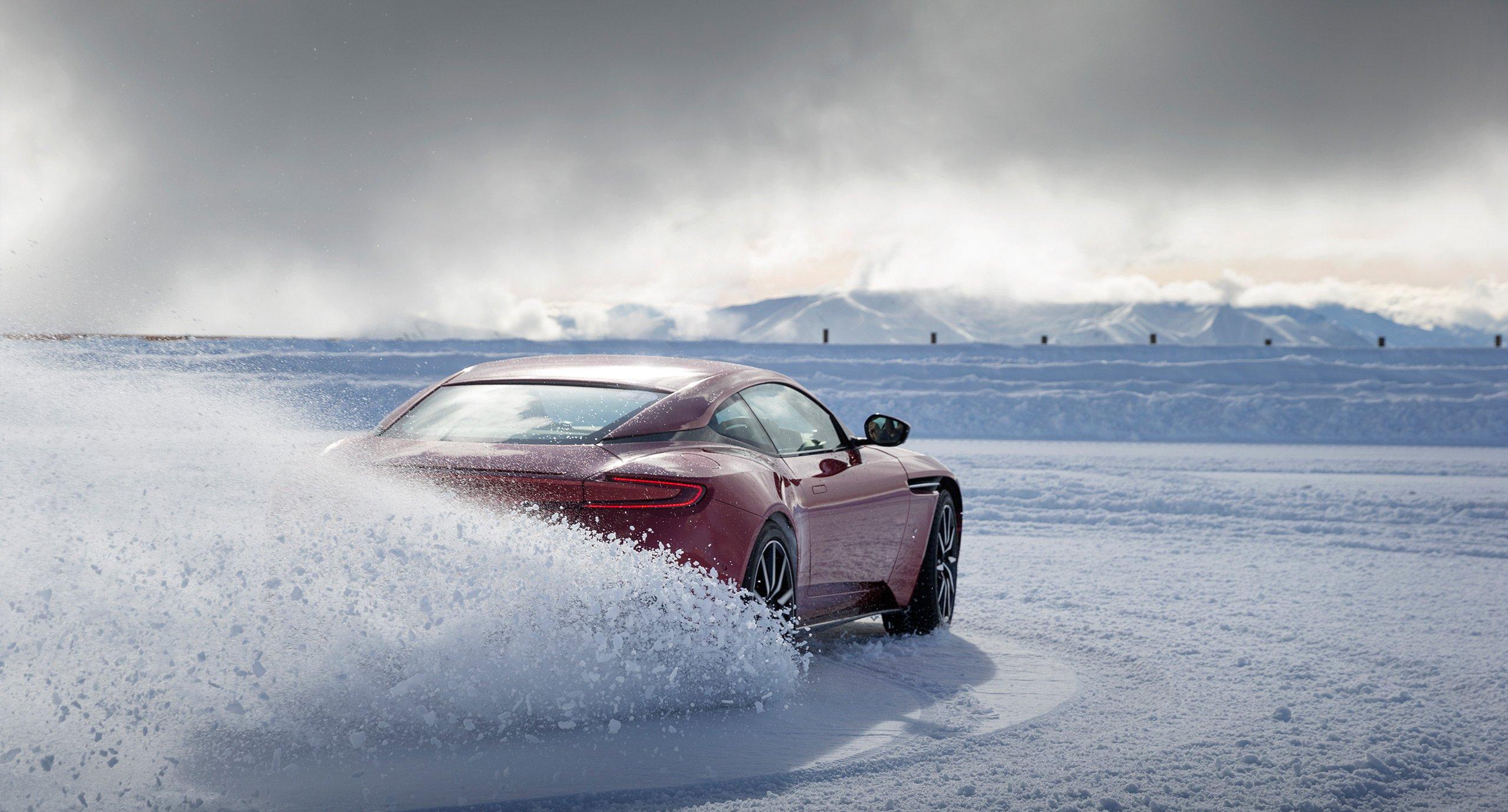 Aston Marton on Ice New Zealand 2017 - Ultimate experience