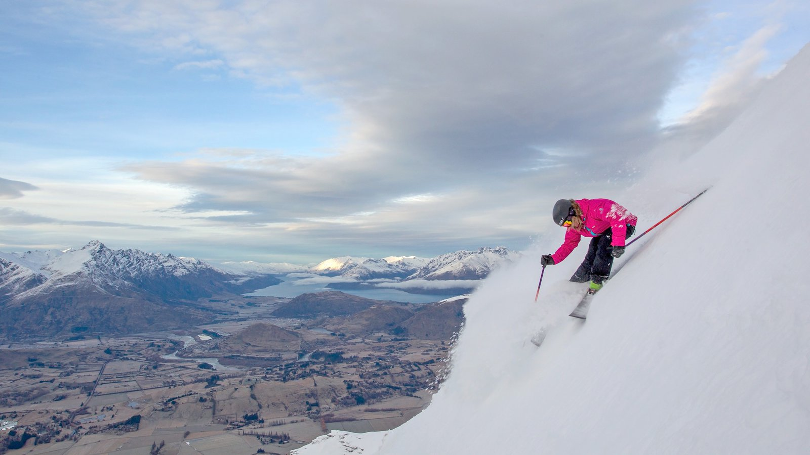 Luxury ski holiday in New Zealand