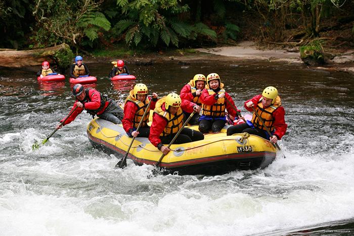 White-water-rafting-New-Zealand