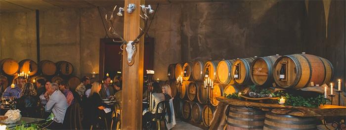wine-cellar-dinner-party