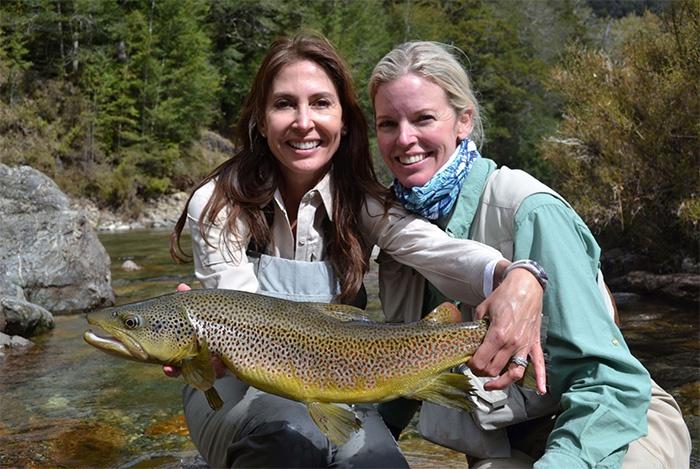 women-trout-fishing